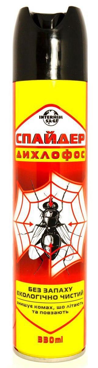 """Дихлофос """"Спайдер"""" 330 мл. ТМ""""Інтерхім"""""""