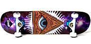 СкейтБорд деревянный от Fish Skateboard Eye Гарантия качества Быстрая доставка, фото 2
