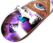 СкейтБорд деревянный от Fish Skateboard Eye Гарантия качества Быстрая доставка, фото 3