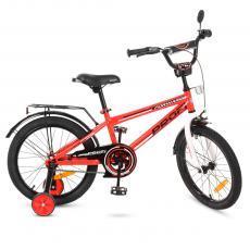 Велосипед детский PROF1 18д. T1875 (1шт) Forward,красный,звонок,доп.колеса