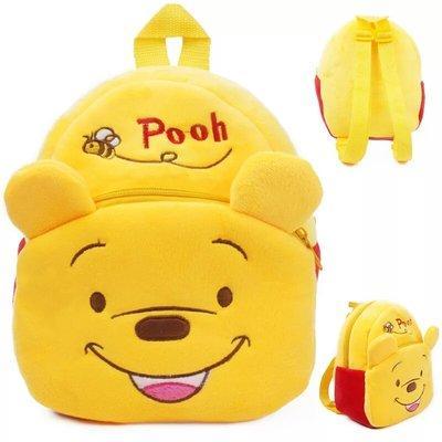 Детский плюшевый рюкзак для девочки и мальчика Pooh / Винни Пух . Рюкзачок для малышей