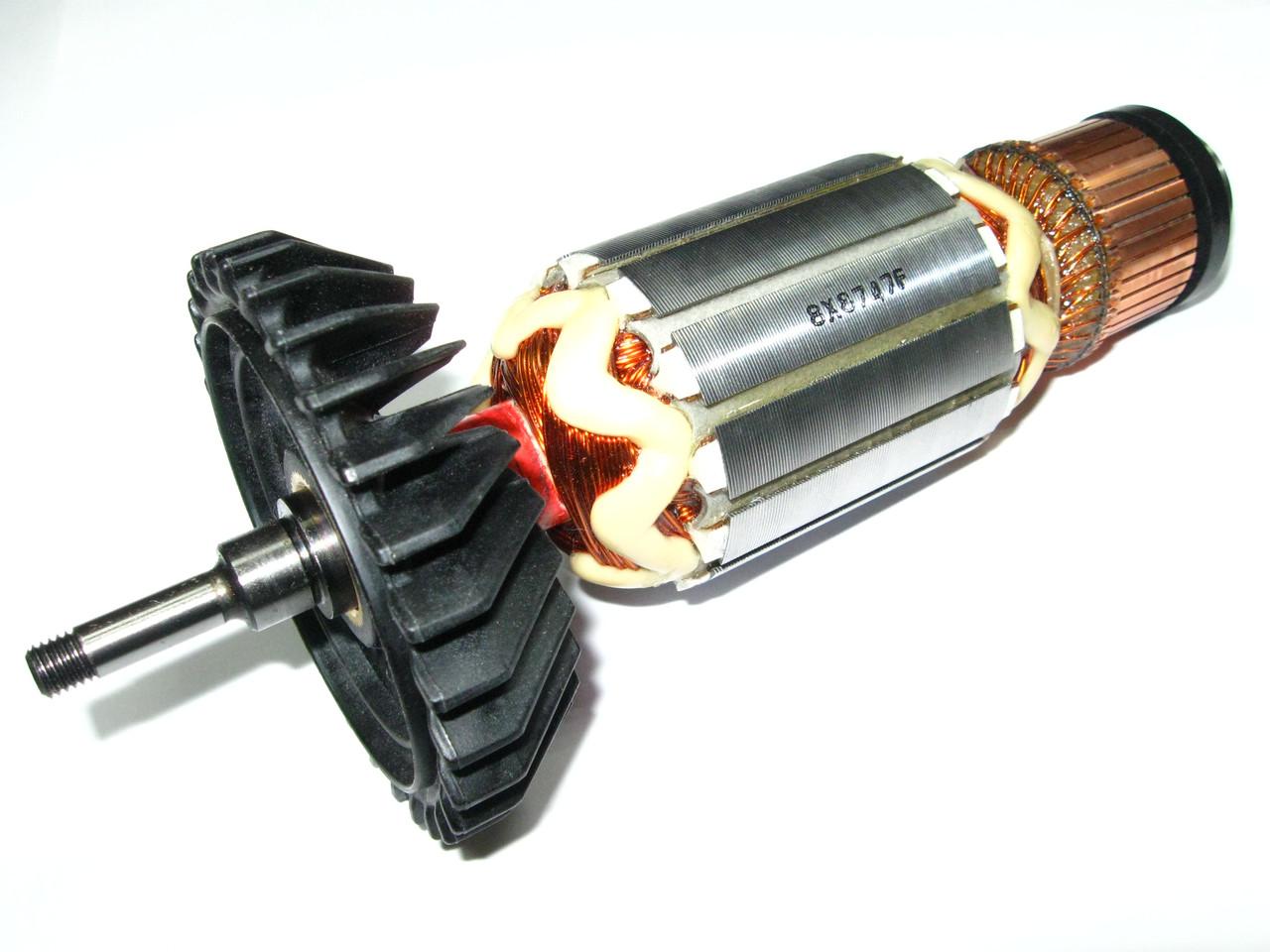 Якорь болгарки Makita GA9050 оригинал 201х49,5 мм