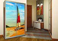 Шкаф - купе (1500*600*2200) фасад фотопечать 2 двери