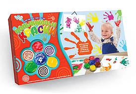 """Набор для творчества """"Пальчиковые краски"""" 4 цвета Danko Toys"""