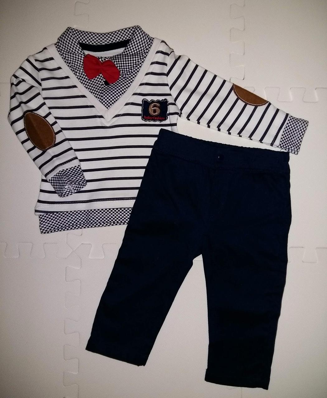 Модный костюм 2-ка для мальчика размеры 68, 74