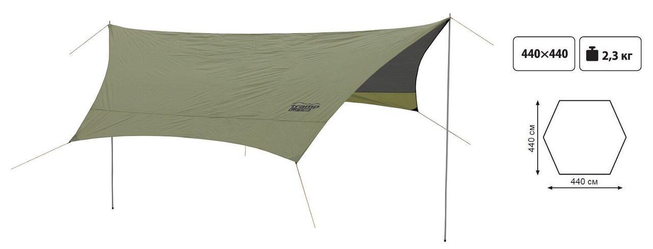 TentTramp Lite Tent green