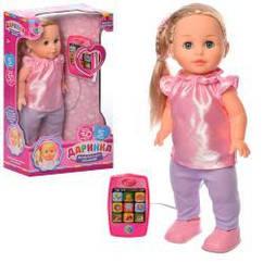 Кукла M 5445 UA (8шт) 41см, муз-зв(укр),ходит, песня,планшет-пульт д/у,бат,в кор-ке,25,5-43,5-13,5см