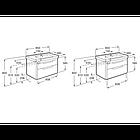 Шкафчик с умывальником Roca DAMA-N A851048153, фото 4