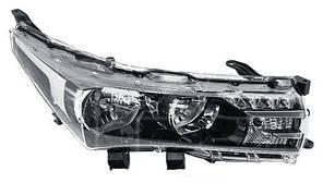 Левая фара Тойота Королла E16 электрическая регулировка, без LED