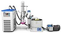 Ротационно-испарительная система, 0,5 - 2 л, с водяной баней, циркуляционным охладителем и вакуумным насосом