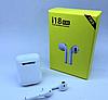 Беспроводные белые сенсорные Bluetooth наушники I18 Airpods, фото 3