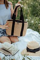 """Женская соломенная сумка """"Лион"""""""