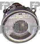 Фара передняя для BMW 3 E30 '87-91 правая (DEPO) внешняя