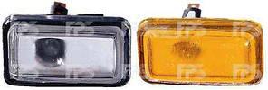 Указатель поворота на крыле Audi 100 /A6 '91-97 левый/правый, желтый (DEPO)