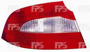 Фонарь задний для Skoda Superb седан '09- левый (DEPO) внешний