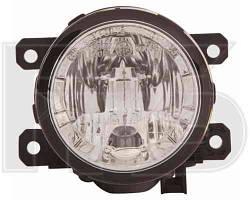 Противотуманная фара + дневной свет Н8+P13W для Renault Logan MCV 08.12 левая/правая (Depo)