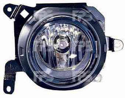 Противотуманная фара для Mitsubishi Outlander '06-07 левая (Depo) с рамкой