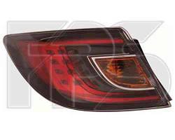 Фонарь задний для Mazda 6 хетчбек/седан '08-10 левый (DEPO) внешний, красный Led