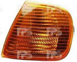 Указатель поворота Volkswagen Polo '94-02 левый, желтый (DEPO)
