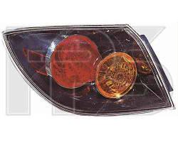 Фонарь задний для Mazda 3 хетчбек '04-07 левый (DEPO) внешний прозрачный