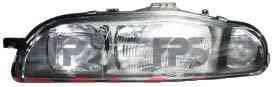 Фара передняя для Fiat Bravo 96-01 левая (DEPO) электрич/механич