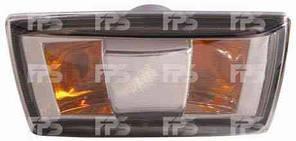 Указатель поворота на крыле Chevrolet Cruze '09- левый, черный (прозрачный) (DEPO)