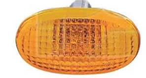 Указатель поворота на крыле Daewoo Nubira '99-04 левый/правый, желтый (DEPO)