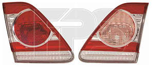 Фонарь задний для Toyota Corolla '10-12 левый, внутренний (DEPO)