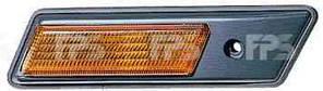 Указатель поворота на крыле BMW 5 E34 '88-96 левый, желтый (DEPO)