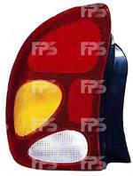Фонарь задний для Daewoo Lanos T150 седан '98- правый (DEPO)