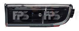 Противотуманная фара для BMW 7 E38 '94-02 левая (Depo) черный отражатель рассеиватель (бензин)