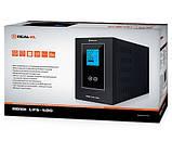 ИБП UPS REAL-EL  HOME UPS-500 Синусоида, фото 3