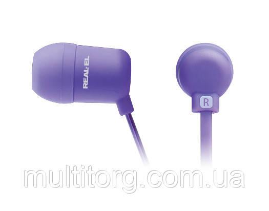 Наушники REAL-EL Z-1600 фиолетовые