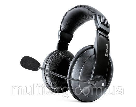 Навушники REAL-EL GD-750MV з мікрофоном