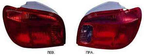 Фонарь задний для Toyota Yaris '03-06 левый (DEPO)