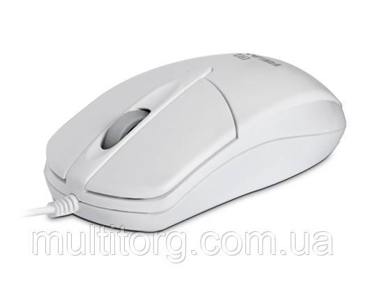 Мышка REAL-EL RM-211 USB белая