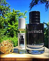 Духи мужские масляные Christian Dior - Sauvage Франция, Свежий пряный, Амбровый, Цитрусовый Мускусный Фужерный
