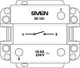 Выключатель SVEN SE-101 одинарный белый, фото 3