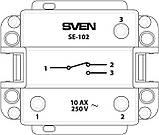 Выключатель SVEN SE-102 проходной одинарный кремовый, фото 4
