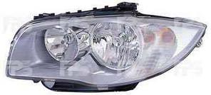 Фара передняя для BMW 1 E87 '04- левая (DEPO) под электрокорректор