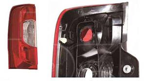 Фонарь задний для Peugeot Bipper '08-, 2дв. левый (DEPO)