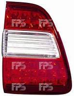 Фонарь задний для Toyota Land Cruiser 100 '05-08 левый (DEPO) внутренний Led