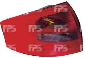 Фонарь задний для Audi A6 седан '01-05 левый (HELLA) зад ход красно-дымч.