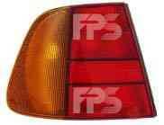 Фонарь задний для Volkswagen Polo '94-01 правый (DEPO) желто-красный