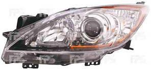 Фара передняя для Mazda 3 '09-13 левая (DEPO) механическая/под электрокорректор