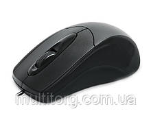 Мышка REAL-EL RM-207 USB черная