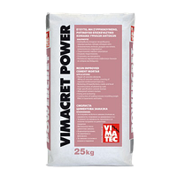VIMACRET POWER, безусадочная быстротвердеющая мелкозернистая сухая смесь наливного типа, 25кг