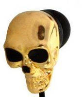 Наушники-вкладыши Firtech FE-082 с черепом