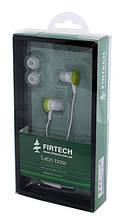 Наушники-вкладыши Firtech FE-072 зеленые уценка