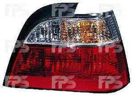 Фонарь задний для Daewoo Nexia '95-08 левый (FPS) бело-прозрачная вставка
